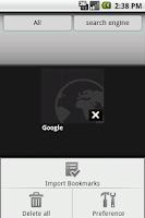 Screenshot of Super Bookmark