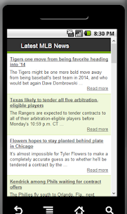 Latest MLB News
