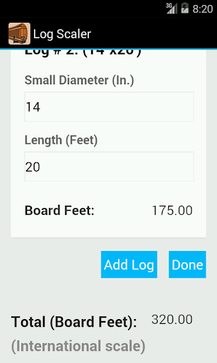 Log Scaler Lite