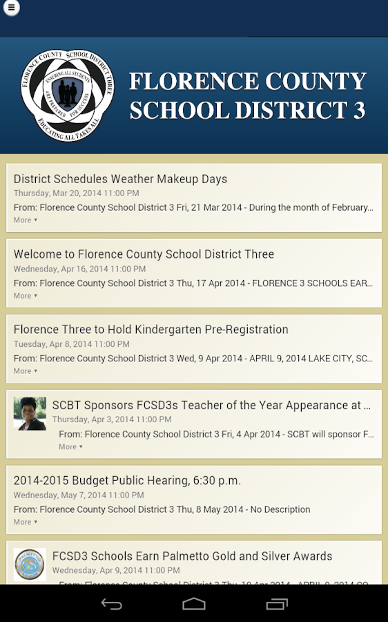 Florence County SD 3- screenshot