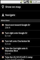 Screenshot of US Hospital Finder Android App
