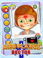 Screenshot of Ambulance Doctor - Fun Games