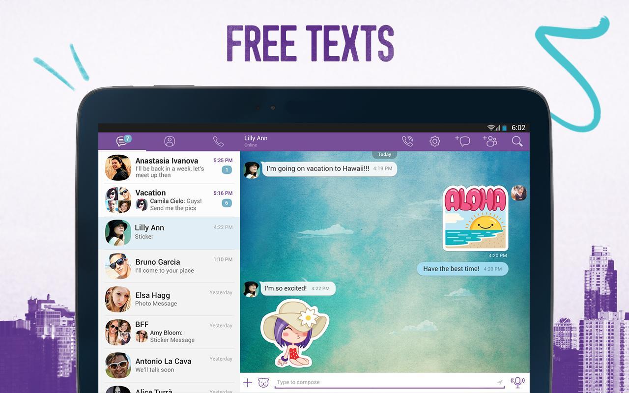 Viber - screenshot