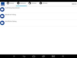 Screenshot of WLW App