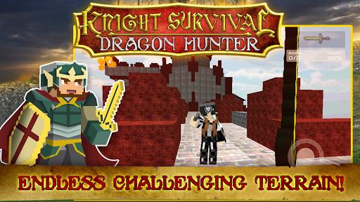 Knight survival dragon hunter