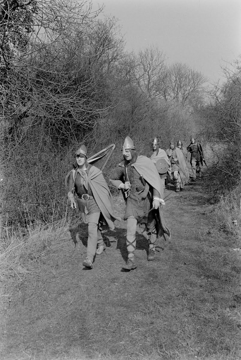 Saxon March-1066 March Of King Harold's Army