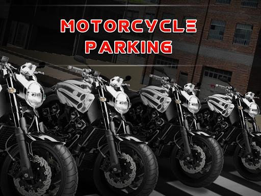 摩托車遊戲3D泊車