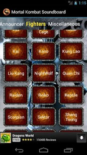 Mortal Kombat Soundboard - screenshot thumbnail