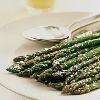 Sesame Asparagus.