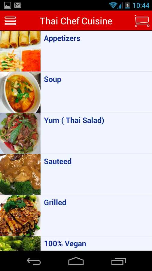 Thai Chef Cuisine- screenshot