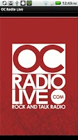 Screenshot of OC Radio Live