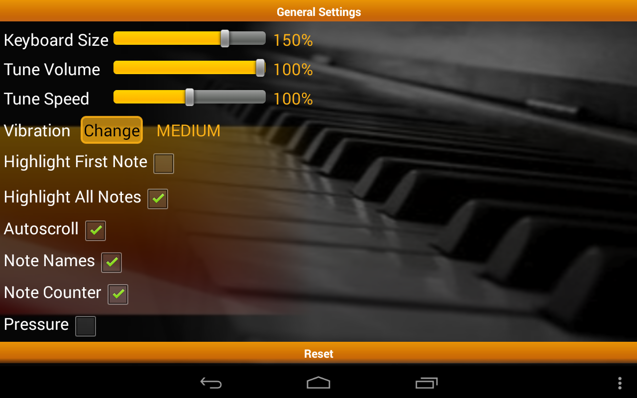 Piano Melody Pro - screenshot