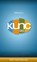 Screenshot of KUNC Public Radio App