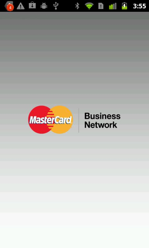 MasterCard Business Network - screenshot
