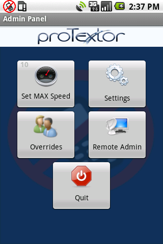 proTextor- screenshot