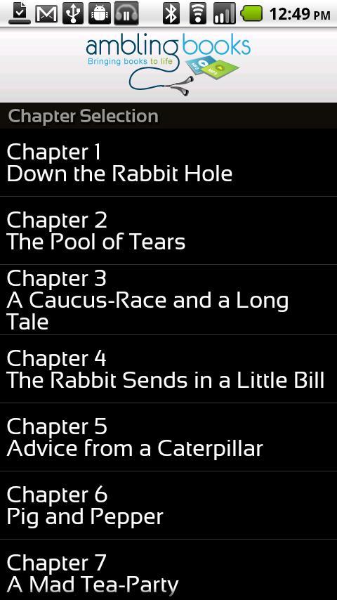 Ambling BookPlayer Pro- screenshot