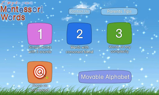 Montessori Words & Phonics screenshot