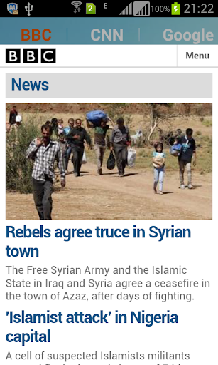 iNewsReader BBC and CNN News