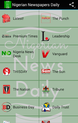 Nigerian Newspapers Daily