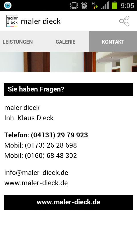 maler dieck- screenshot