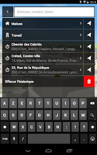 Mappy GPS Free - screenshot thumbnail