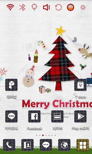 크리스마스 퀼트 런처플래닛 테마