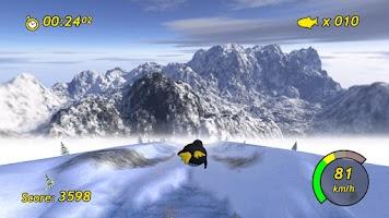 Screenshot of Tux Racer