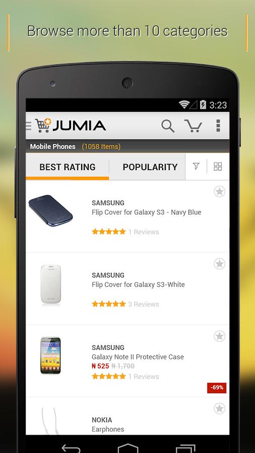 jumia online shopping screenshot