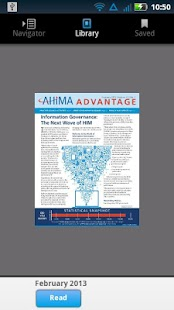 AHIMA Advantage- screenshot thumbnail