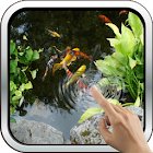 Magic Touch: Realistic Koi Live Wallpaper icon