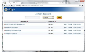 Screenshot of AHG Cloud Note Demo