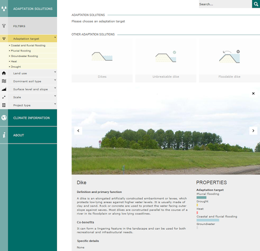 Climate Adaptation App