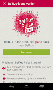 New Belfius Direct Mobile - screenshot thumbnail