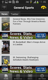 Iowa Hawkeye Sports - screenshot thumbnail
