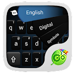 GO Keyboard Simple Black Theme 4.178.100.85 Apk