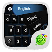 GO Keyboard Simple Black Theme