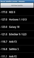 Screenshot of Satellite Locator