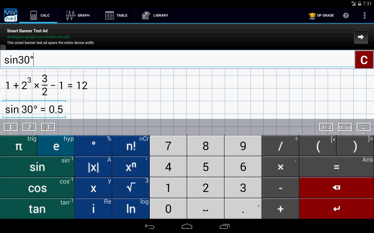 Graphing Calculator by Mathlab - screenshot