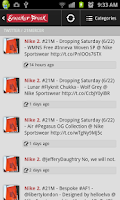 Screenshot of Sneaker Freak