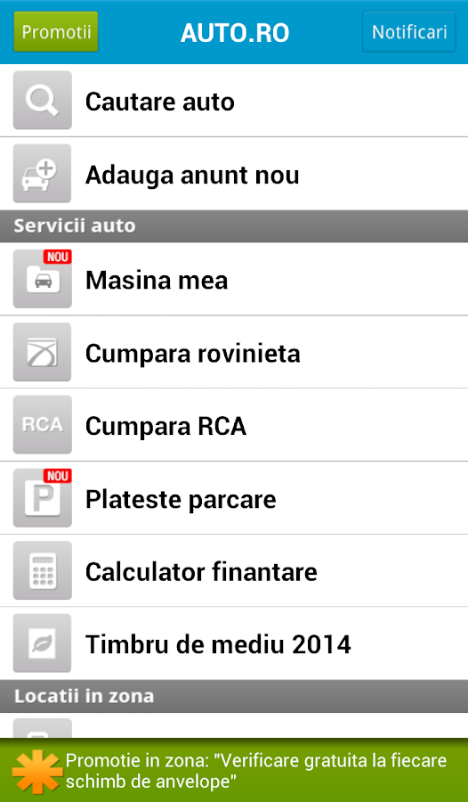 Auto.ro - screenshot