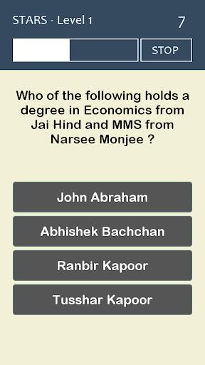 Bollywood Quiz Game