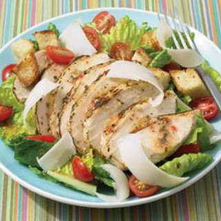 Italian Grilled Chicken & Grape Tomato Salad.
