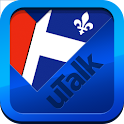 uTalk Canadian French icon