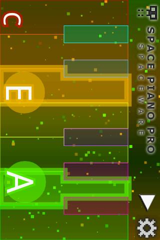 Space Piano Pro - screenshot