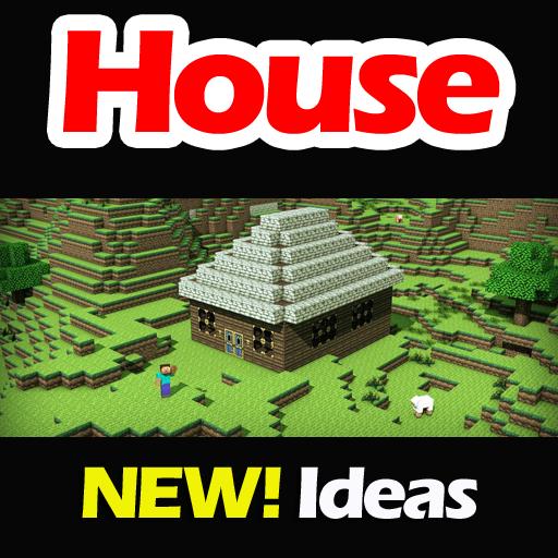 House Ideas Minecraft PE LOGO-APP點子