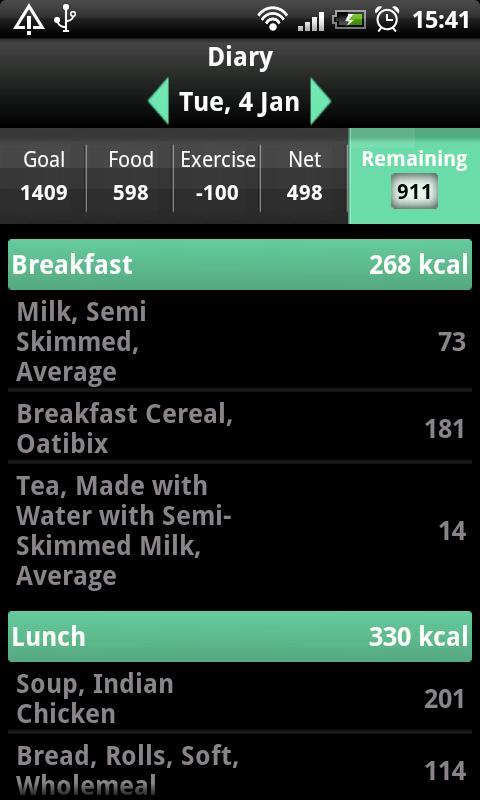 My Meal Mate- screenshot