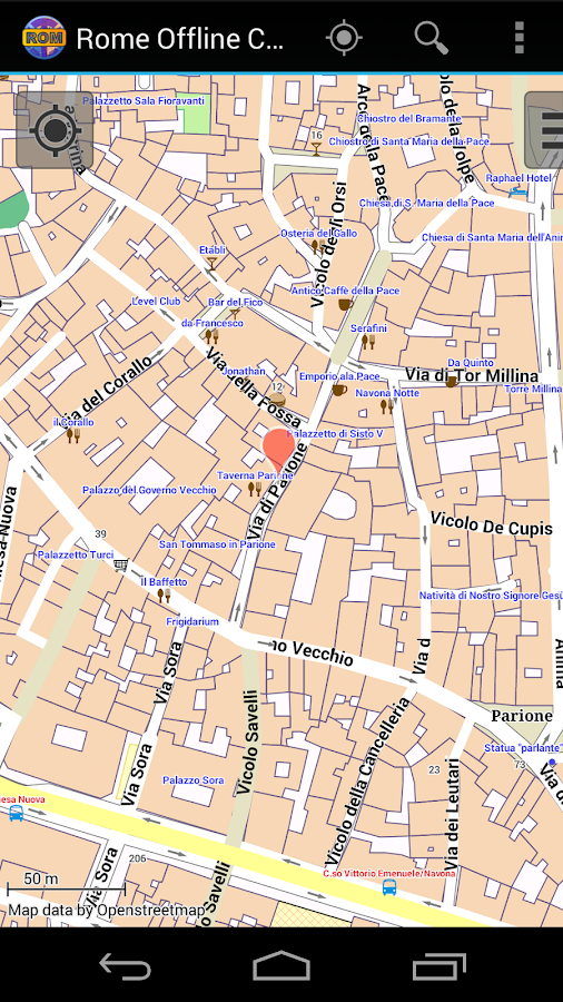 Rome Offline City Map- screenshot