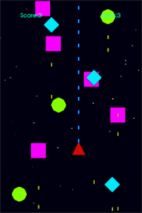 Space Triangle screenshot