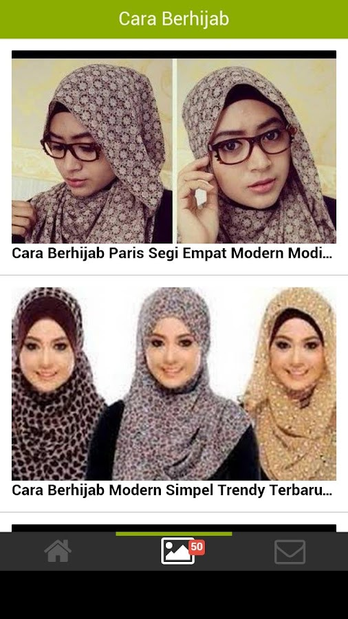 Tutorial Video Cara Berhijab - Android Apps on Google Play