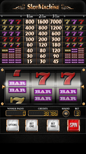 Slot Machine Sevens